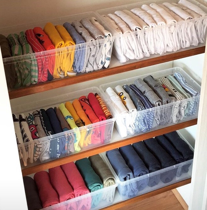 Ordenar tu ropa con el método Marie Kondo