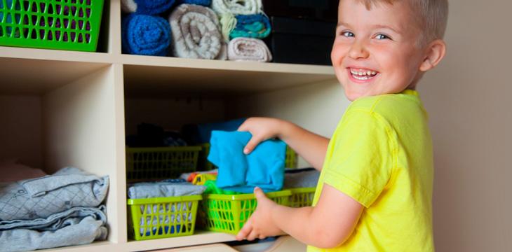 Cómo hacer niños más ordenados