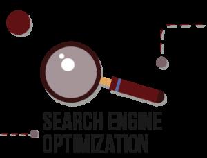 lupa y texto Search Engine Optimization