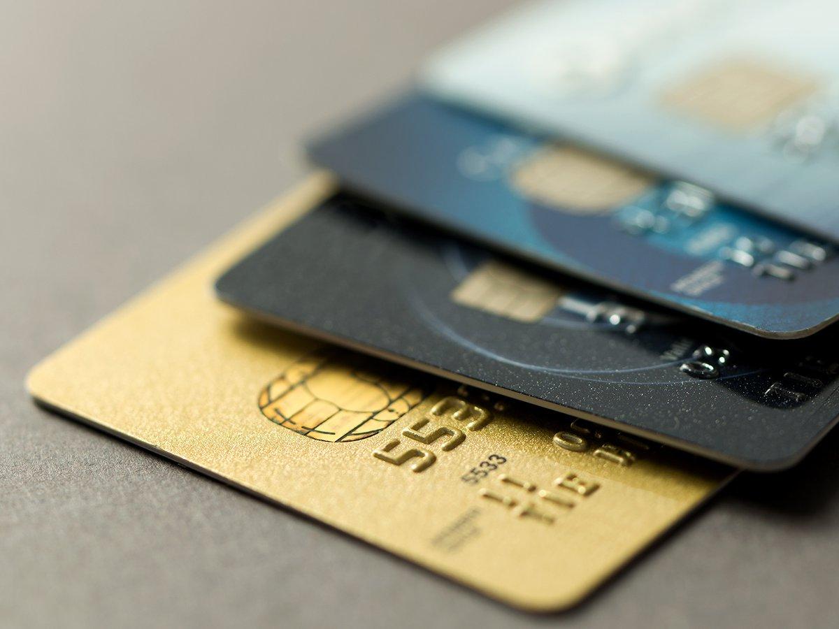 Diversas tarjetas de crédito